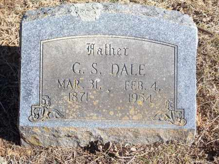 DALE, G. S. - Washington County, Arkansas | G. S. DALE - Arkansas Gravestone Photos