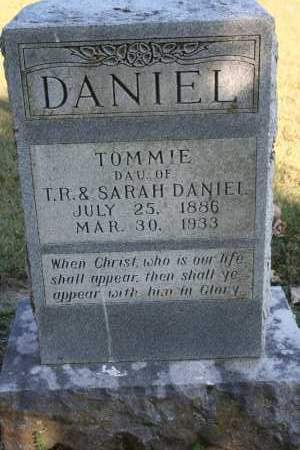 DANIEL, TOMMIE - Washington County, Arkansas | TOMMIE DANIEL - Arkansas Gravestone Photos