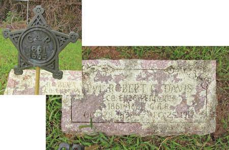 DAVIS  (VETERAN UNION), ROBERT GEORGE - Washington County, Arkansas   ROBERT GEORGE DAVIS  (VETERAN UNION) - Arkansas Gravestone Photos
