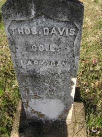 DAVIS  (VETERAN UNION), THOMAS - Washington County, Arkansas | THOMAS DAVIS  (VETERAN UNION) - Arkansas Gravestone Photos