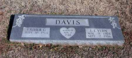 "DAVIS, L.L. ""VERN"" - Washington County, Arkansas | L.L. ""VERN"" DAVIS - Arkansas Gravestone Photos"