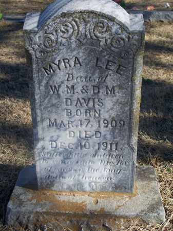 DAVIS, MYRA LEE - Washington County, Arkansas | MYRA LEE DAVIS - Arkansas Gravestone Photos