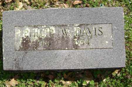 DAVIS, PHILIP W. - Washington County, Arkansas | PHILIP W. DAVIS - Arkansas Gravestone Photos