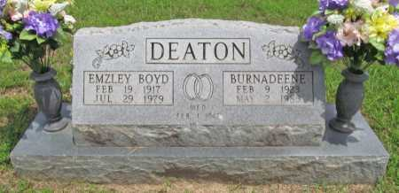 DEATON, EMZLEY BOYD - Washington County, Arkansas | EMZLEY BOYD DEATON - Arkansas Gravestone Photos