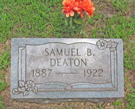 DEATON, SAMUEL B. - Washington County, Arkansas | SAMUEL B. DEATON - Arkansas Gravestone Photos