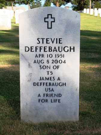 DEFFEBAUGH, STEVIE - Washington County, Arkansas | STEVIE DEFFEBAUGH - Arkansas Gravestone Photos