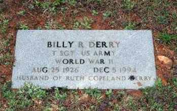 DERRY  (VETERAN WWII), BILLY R. - Washington County, Arkansas | BILLY R. DERRY  (VETERAN WWII) - Arkansas Gravestone Photos