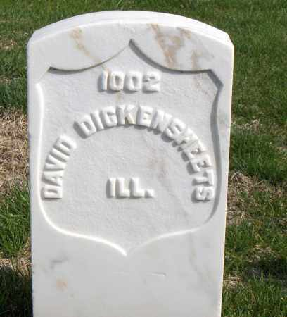 DICKENSHEETS (VETERAN UNION), DAVID - Washington County, Arkansas | DAVID DICKENSHEETS (VETERAN UNION) - Arkansas Gravestone Photos