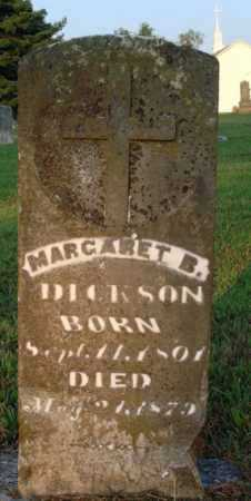 DICKSON, MARGARET B. - Washington County, Arkansas | MARGARET B. DICKSON - Arkansas Gravestone Photos