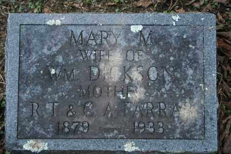 DICKSON, MARY M. - Washington County, Arkansas | MARY M. DICKSON - Arkansas Gravestone Photos