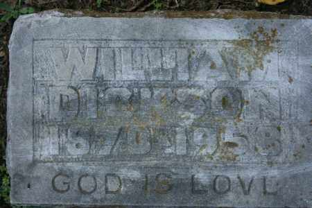DICKSON, WILLIAM - Washington County, Arkansas | WILLIAM DICKSON - Arkansas Gravestone Photos