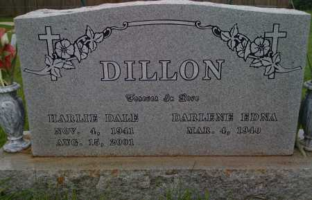 DILLON, HARLIE DALE - Washington County, Arkansas | HARLIE DALE DILLON - Arkansas Gravestone Photos