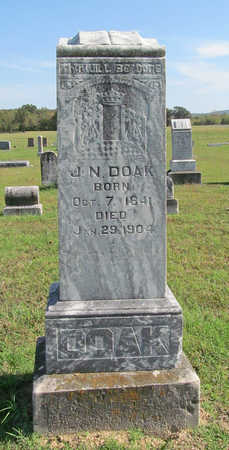 DOAK, J N - Washington County, Arkansas | J N DOAK - Arkansas Gravestone Photos