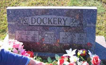 DOCKERY, JOHN E. - Washington County, Arkansas | JOHN E. DOCKERY - Arkansas Gravestone Photos