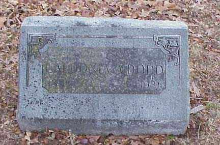 DODD, CALDONIA A. - Washington County, Arkansas | CALDONIA A. DODD - Arkansas Gravestone Photos