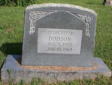 DODSON, EVERETTE S. - Washington County, Arkansas | EVERETTE S. DODSON - Arkansas Gravestone Photos