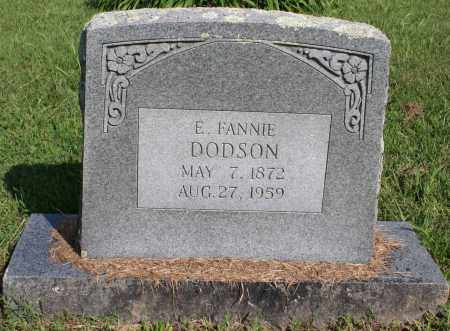 "DODSON, E. FRANCES ""FANNIE"" - Washington County, Arkansas 
