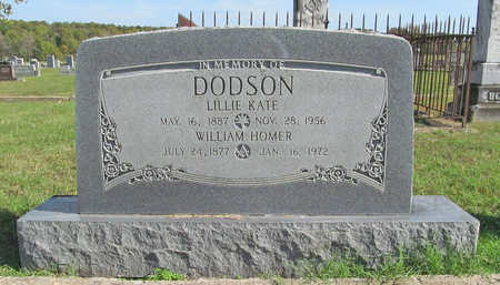 DODSON, WILLIAM HOMER - Washington County, Arkansas | WILLIAM HOMER DODSON - Arkansas Gravestone Photos