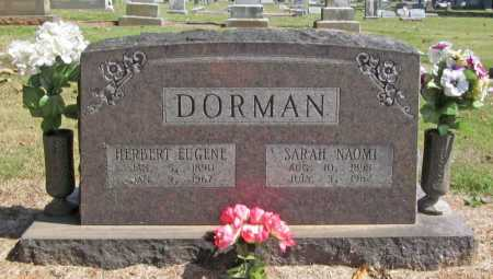 DORMAN, SARAH NAOMI - Washington County, Arkansas | SARAH NAOMI DORMAN - Arkansas Gravestone Photos