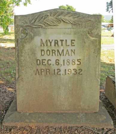 DORMAN, MYRTLE - Washington County, Arkansas | MYRTLE DORMAN - Arkansas Gravestone Photos
