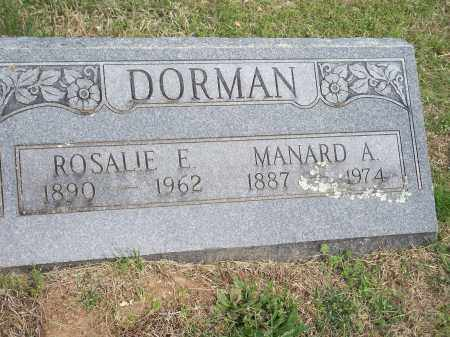DORMAN, ROSALIE E. - Washington County, Arkansas | ROSALIE E. DORMAN - Arkansas Gravestone Photos