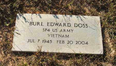 DOSS (VETERAN VIET), BURL EDWARD - Washington County, Arkansas | BURL EDWARD DOSS (VETERAN VIET) - Arkansas Gravestone Photos
