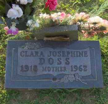 DOSS, CLARA JOSEPHINE - Washington County, Arkansas | CLARA JOSEPHINE DOSS - Arkansas Gravestone Photos
