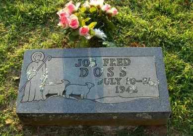 DOSS, JOE FRED - Washington County, Arkansas   JOE FRED DOSS - Arkansas Gravestone Photos