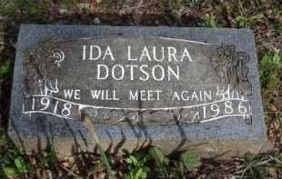 DOTSON, IDA LAURA - Washington County, Arkansas | IDA LAURA DOTSON - Arkansas Gravestone Photos