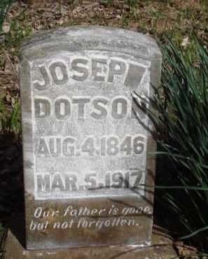 DOTSON, JOSEP - Washington County, Arkansas | JOSEP DOTSON - Arkansas Gravestone Photos