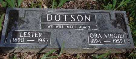 DOTSON, ORA VIRGIE - Washington County, Arkansas | ORA VIRGIE DOTSON - Arkansas Gravestone Photos