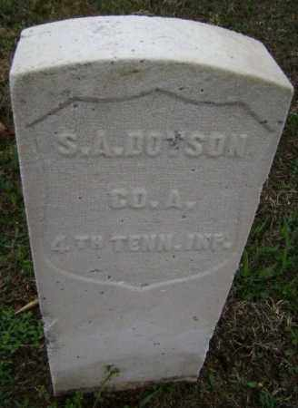 DOTSON (VETERAN UNION), S A - Washington County, Arkansas | S A DOTSON (VETERAN UNION) - Arkansas Gravestone Photos