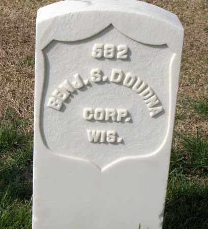 DOUDNA (VETERAN UNION), BENJAMIN S - Washington County, Arkansas | BENJAMIN S DOUDNA (VETERAN UNION) - Arkansas Gravestone Photos