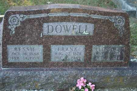 DOWELL, FLORENCE - Washington County, Arkansas | FLORENCE DOWELL - Arkansas Gravestone Photos