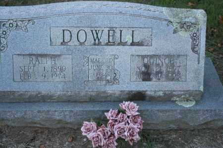 DOWELL, RALPH - Washington County, Arkansas | RALPH DOWELL - Arkansas Gravestone Photos