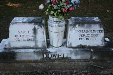 BOLINGER DOWELL, EMMA - Washington County, Arkansas | EMMA BOLINGER DOWELL - Arkansas Gravestone Photos