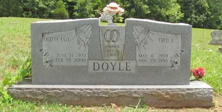 DOYLE, FRED A. - Washington County, Arkansas | FRED A. DOYLE - Arkansas Gravestone Photos