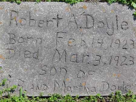 DOYLE, ROBERT A. - Washington County, Arkansas   ROBERT A. DOYLE - Arkansas Gravestone Photos