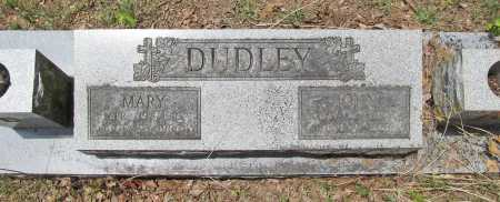 GADDIS DUDLEY, MARY F. - Washington County, Arkansas | MARY F. GADDIS DUDLEY - Arkansas Gravestone Photos
