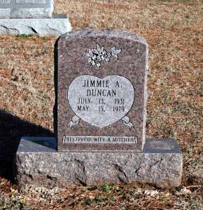 DUNCAN, JIMMIE A. - Washington County, Arkansas | JIMMIE A. DUNCAN - Arkansas Gravestone Photos