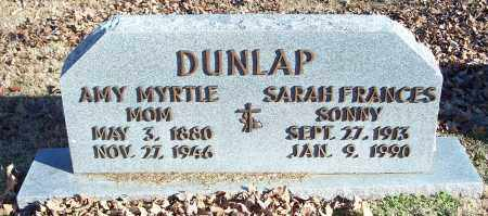 DUNLAP, SARAH FRANCES - Washington County, Arkansas | SARAH FRANCES DUNLAP - Arkansas Gravestone Photos