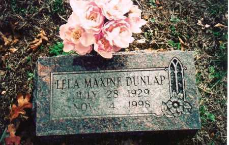 DUNLAP, LELA MAXINE - Washington County, Arkansas | LELA MAXINE DUNLAP - Arkansas Gravestone Photos
