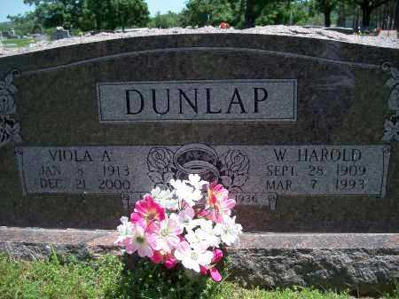 DUNLAP, W. HAROLD - Washington County, Arkansas | W. HAROLD DUNLAP - Arkansas Gravestone Photos