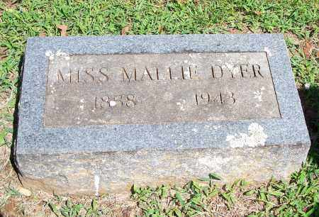 DYER, MALLIE - Washington County, Arkansas | MALLIE DYER - Arkansas Gravestone Photos