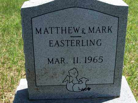 EASTERLING, MATTHEW - Washington County, Arkansas | MATTHEW EASTERLING - Arkansas Gravestone Photos
