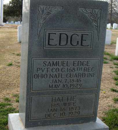 EDGE, HATTIE - Washington County, Arkansas | HATTIE EDGE - Arkansas Gravestone Photos