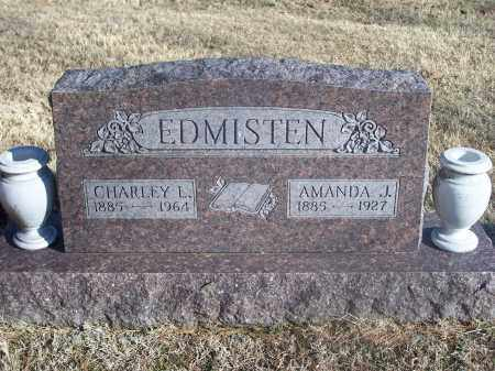 EDMISTEN, CHARLEY L. - Washington County, Arkansas | CHARLEY L. EDMISTEN - Arkansas Gravestone Photos