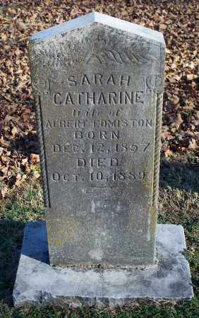 EDMISTON, SARAH CATHARINE - Washington County, Arkansas | SARAH CATHARINE EDMISTON - Arkansas Gravestone Photos