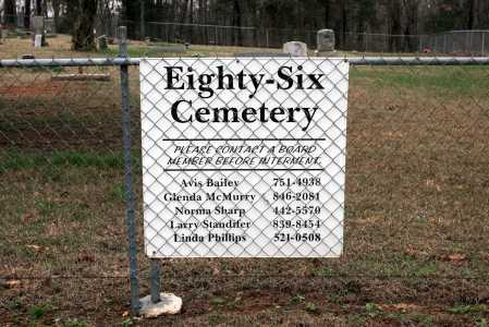 *EIGHTY-SIX CEMETERY DIRECTION,  - Washington County, Arkansas |  *EIGHTY-SIX CEMETERY DIRECTION - Arkansas Gravestone Photos