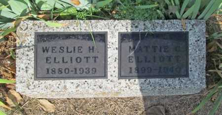 ELLIOTT, MATTIE C. - Washington County, Arkansas | MATTIE C. ELLIOTT - Arkansas Gravestone Photos